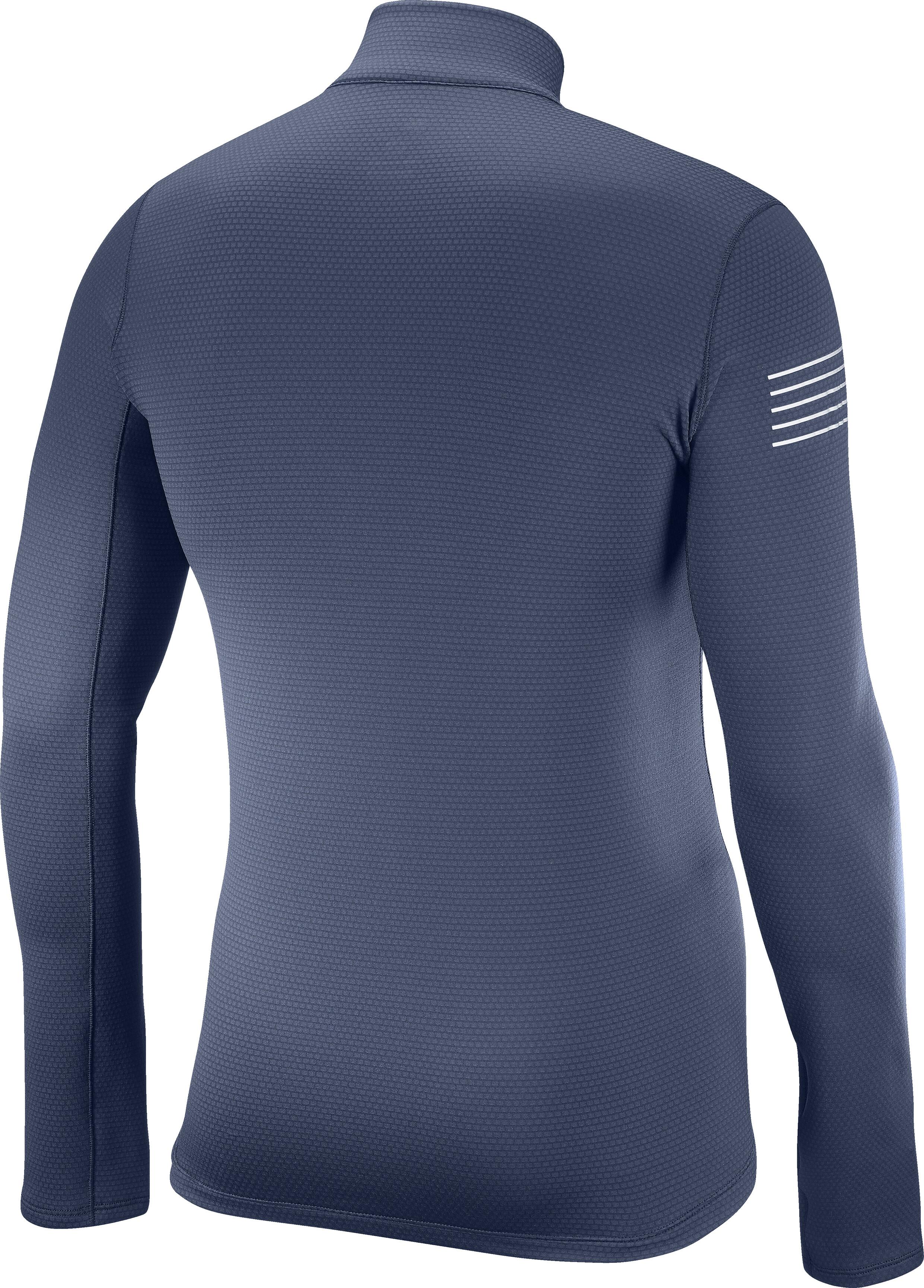 070180e0f2590 Salomon Fast Wing - Camiseta manga larga running Hombre - gris ...